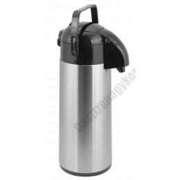 Termosz 1,9 liter pumpás 13×36 cm