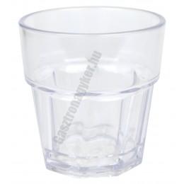 Casablanca polikarbonát pohár 250 ml, törhetetlen