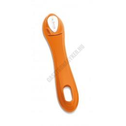 Levehető nyél, Soft Touch, narancs, de Buyer