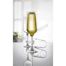 Mencia pezsgős pohár, 170 ml, temperált, üveg