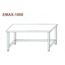 Munkaasztal lábösszekötővel Emax-1000 KR 1600×700×850