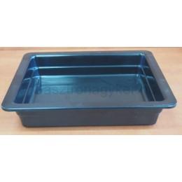 Gn edény 1/2 65 mm (32,5×26,5×6,5 cm) fekete melamin