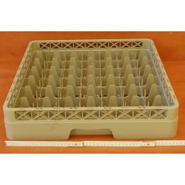 Mosogatórekesz, 49 cellás, 50x50x10 cm