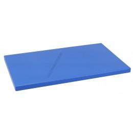 Vágólap 30×50×2 cm kék műanyag 6 gumitalpacskával