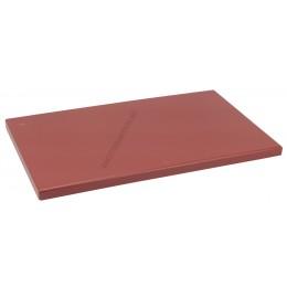Vágólap 30×50×2 cm barna műanyag 6 gumitalpacskával