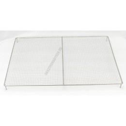 Gitterrács, cukrászati, 450×620 mm, rozsdamentes