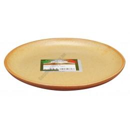 Cserép desszert lapostányér 19 cm