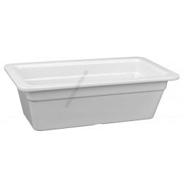 Gn edény 1/3 100 mm (17,6×32,5×10 cm) fehér melamin