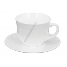 Trianon cappuccino csésze 1,6 dl 6 db/szett, üveg